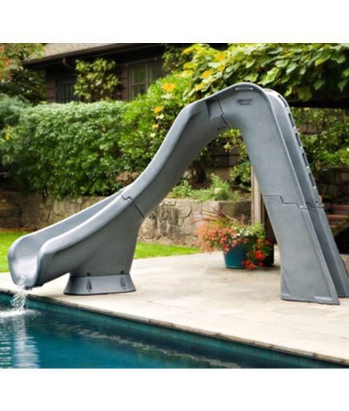tobogán juegos piscina diversión niños agua