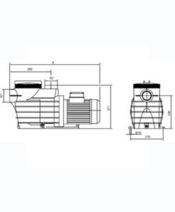 bomba calor calefactor piscinas agua chile piscinería