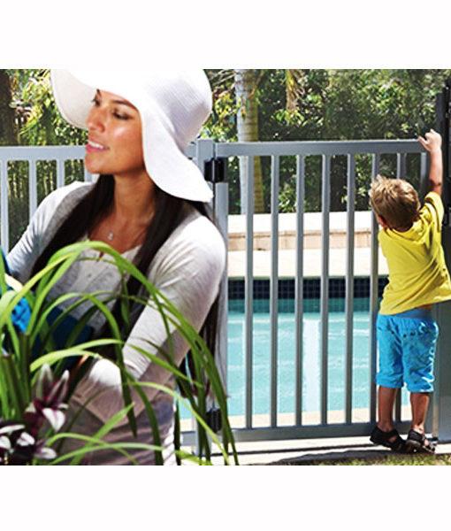 Cierre de seguridad sin alarma para rejas de piscinas for Alarma piscina