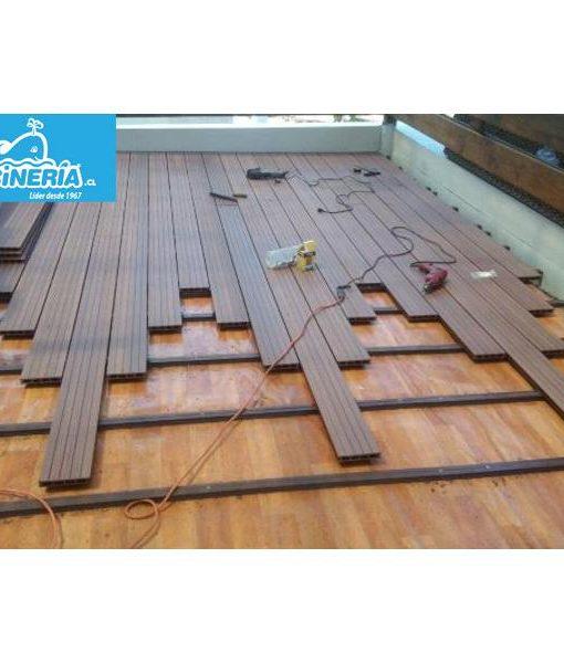 deck instalación piso madera revestimiento wpc spa piscina