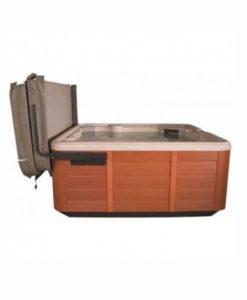 levantador cubierta spa jacuzzi piscina relax chile hidromasaje caliente piscinería