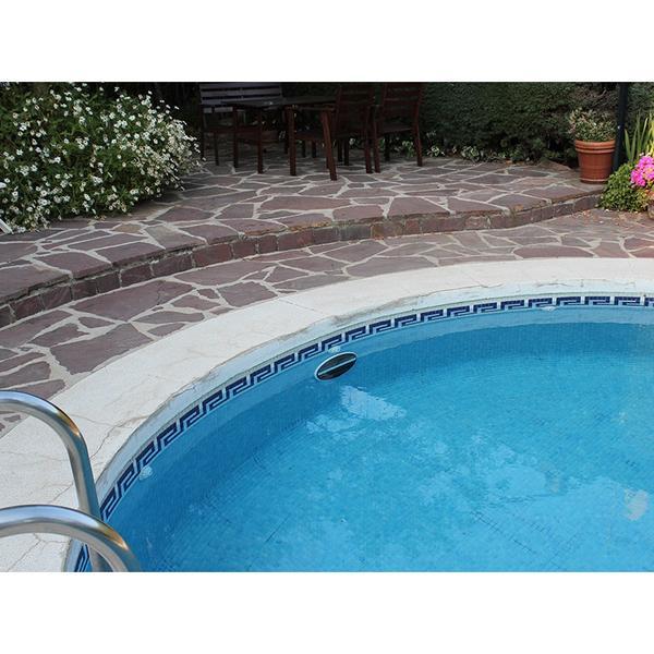 Foco plano solar led luz blanca para piscinas piscineria for Foco piscina
