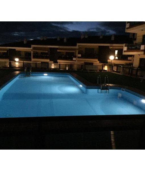 Foco plano solar led para piscinas piscineria - Focos de piscina ...