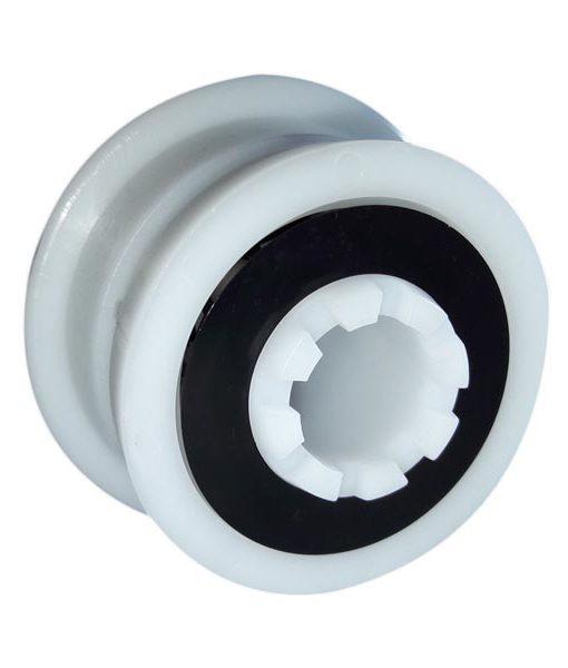 rueda rodamientos para tubo limpia fondos agua chile piscineria