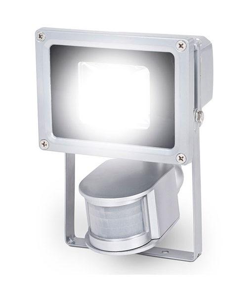 Foco proyector 10w exterior led luz fr a con sensor for Foco led exterior 10w
