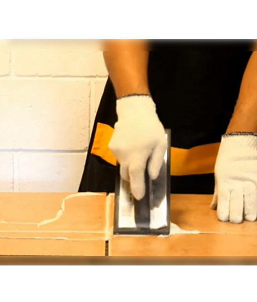 aplicación instalación frague revestimiento piscina chile