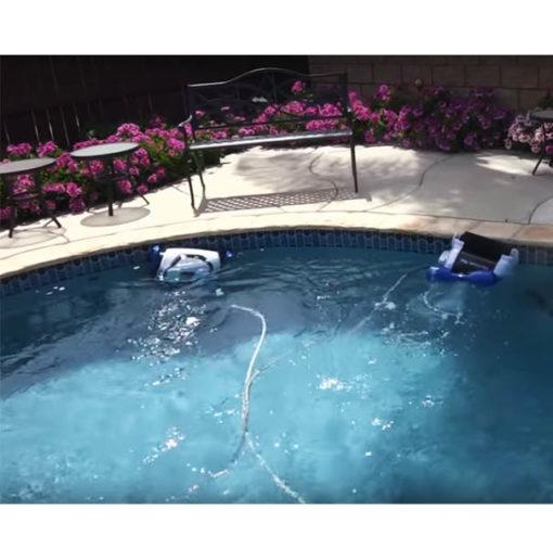 Super limpiador de piscinas autom tico 240m3 piscineria - Limpiador fondo piscina ...