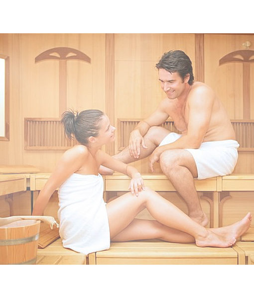 calefactor sauna calor madera cabina sala piscineria spa relax