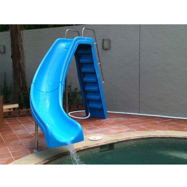 Tobog n juegos ni os diversi n piscina agua relajarse for Tobogan piscina ninos