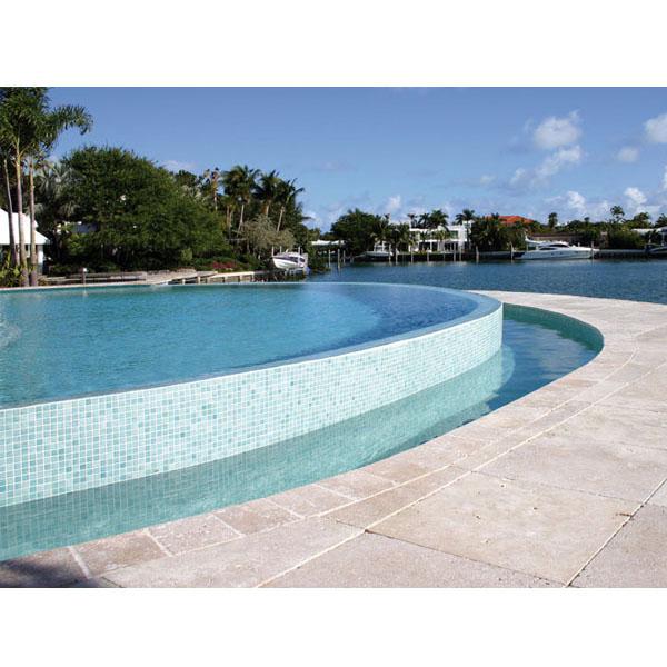 Mosaico verde agua para piscina no mas pintura - Agua de piscina verde ...