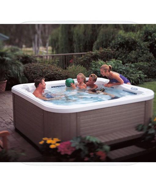 spa jacuzzi nautilus piscina relax chile hidromasaje caliente