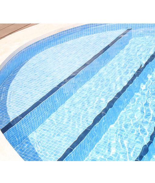 mosaico piscina luminicente relajarse agua revestimiento chile feliz relax