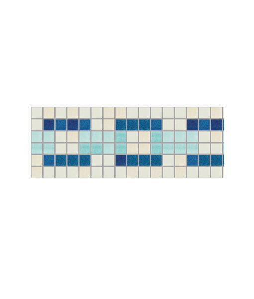 Cenefa azul y calipso revestimiento piscina relajarse agua revestimiento chile feliz relax
