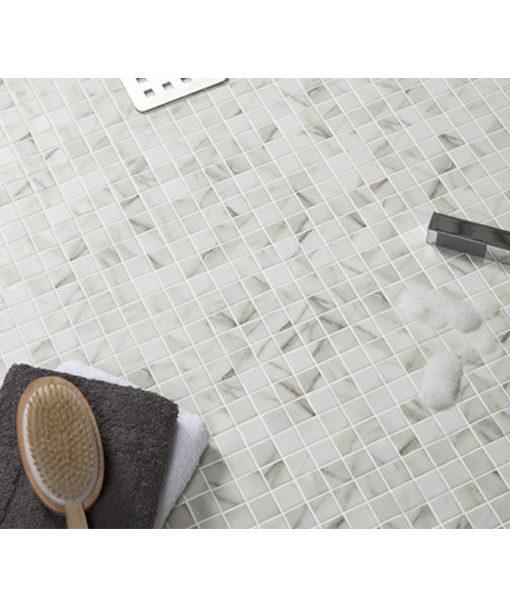 mosaico piscina relajarse agua revestimiento chile feliz relax