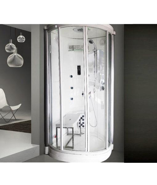 cabina sala ducha vapor caliente agua sala hidromasaje chile