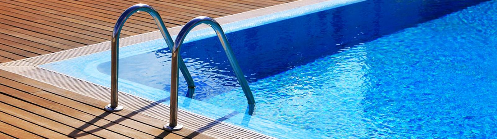 Escalera baranda pasamanos acero inoxidable piscina agua - Piscina acero inoxidable ...