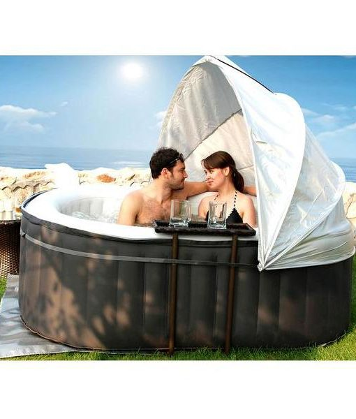 spa inflable nest jacuzzi piscina relax chile hidromasaje caliente