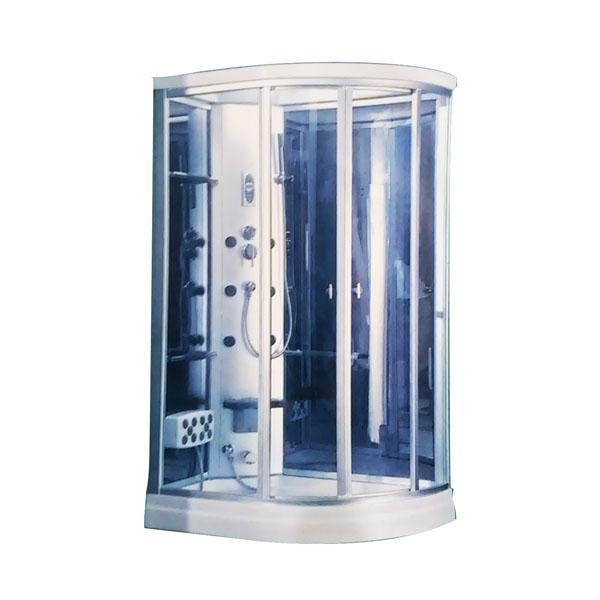 Shower room ba o turco ducha hidromasaje 1 pisciner a - Beneficios del bano de vapor ...