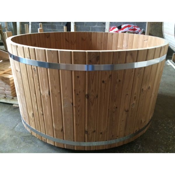 Hot tub madera thermowood 8 personas calefacci n interior for Jacuzzi 8 personas