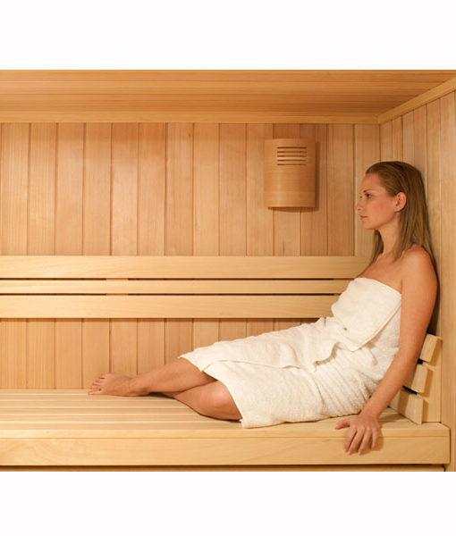 Sauna cuarto sala cabina madera pre fabricada piscina