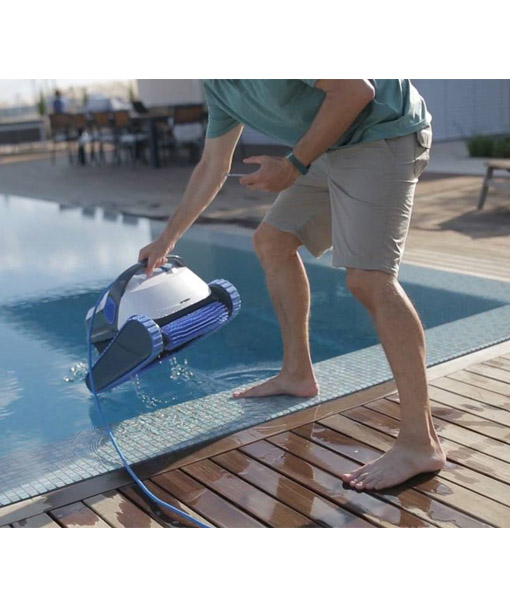 Dolphin robot piscinero limpia piscinas piscineria - Robot para piscinas ...