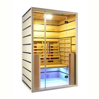 cabina sauna infrarrojo 2500w