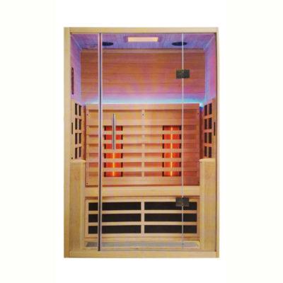 Cabina sauna infrarrojo 2480w