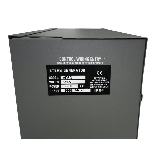 Generador vapor 5kw 380v control y boquilla piscineria - Beneficios del bano de vapor ...