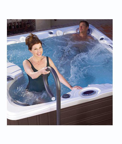 pasamanos baranda acero inoxidable spa agua piscina chile piscinería