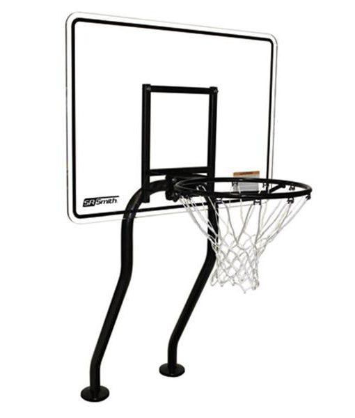 aro basquetbol juegos niños diversión piscina agua relajarse feliz chile