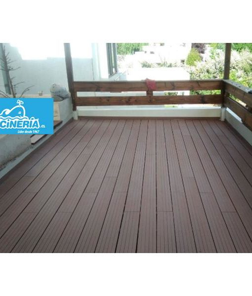 Tabla Deck Wpc Café Claro Tabla 2200x150x25mm