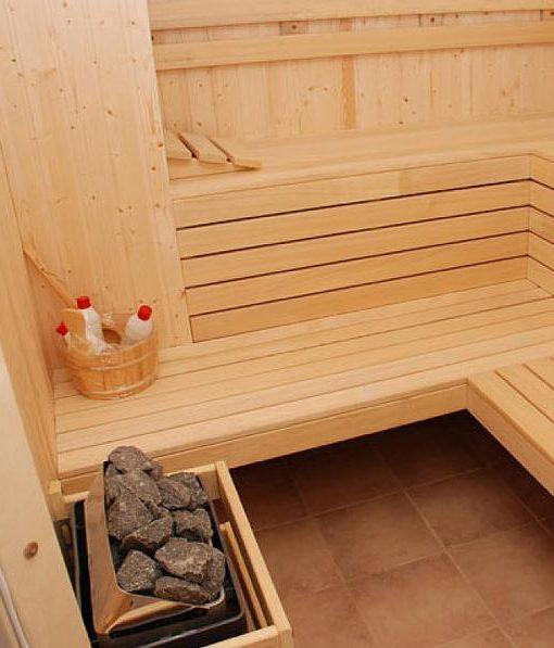 Equipamiento | Sauna