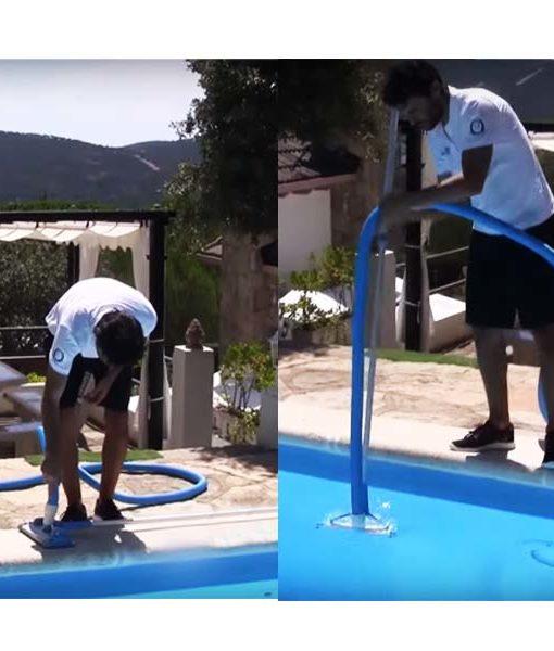 manguera accesorios mantención agua piscina chile