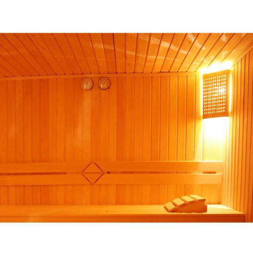 respaldo madera sauna vapor hidromasaje caliente chile agua