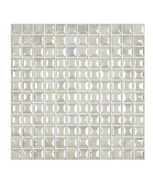 Mosaico edna aura white piscina relajarse agua revestimiento chile feliz relax
