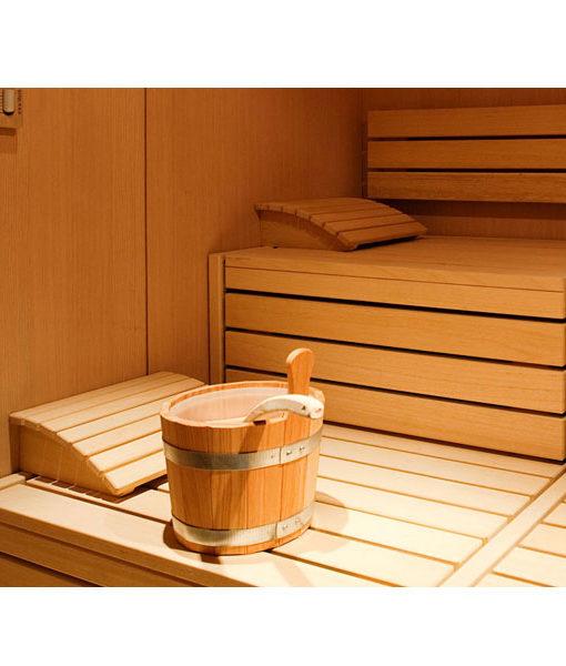 apoya cabeza madera sauna vapor hidromasaje caliente chile agua