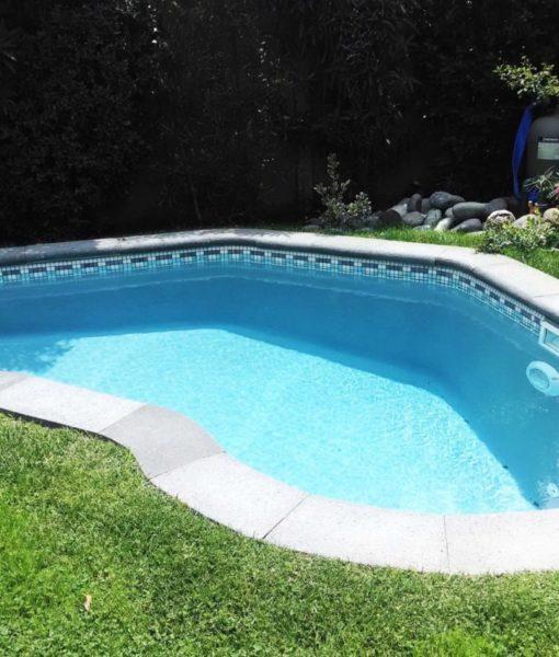Mosaico | Cenefa para borde de piscina