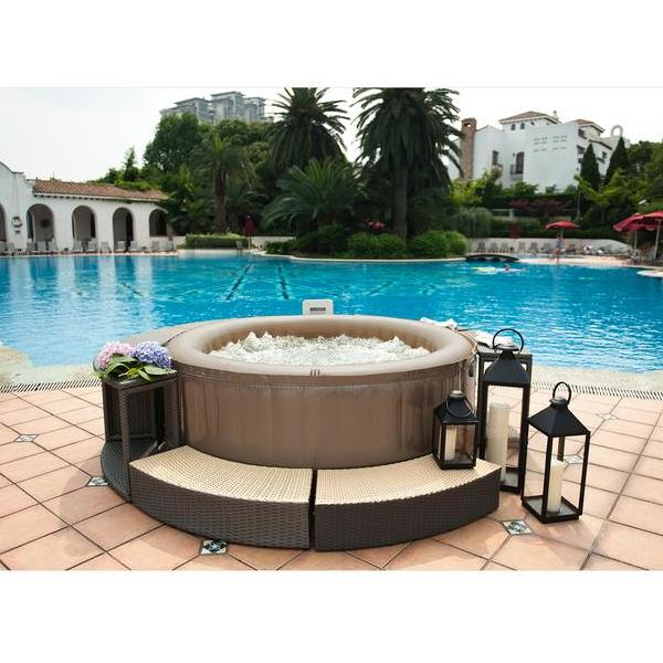 Jacuzzi Inflable Chile.Spa Jacuzzi Reve Jet Inflable 4 Personas A Pedido Mspa