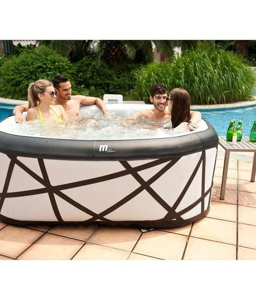 Jacuzzi Inflable Chile.Spa Jacuzzi Soho Inflable 6 Personas A Pedido Mspa