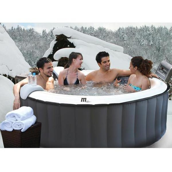 Jacuzzi Inflable Chile.Spa Jacuzzi Silver Cloud Inflable 4 Personas A Pedido Mspa